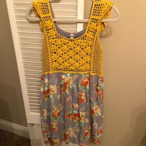 Size M Uncle Frank Lined Dress